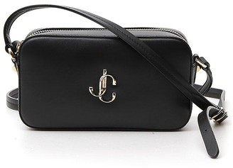 Jimmy Choo Hale Logo Zipped Crossbody Bag