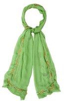 Alexander McQueen Silk Chain-Link Scarf w/ Tags