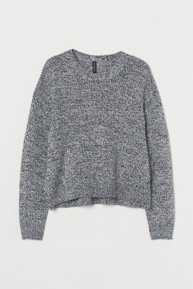 H&M Knit Sweater - White