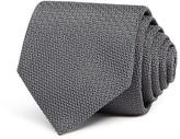Salvatore Ferragamo Textured Solid Classic Tie