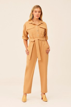 The Fifth BACKTRACK JUMPSUIT Tan
