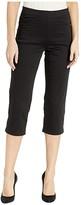 FDJ French Dressing Jeans Jeans D-Lux Denim Pull-On Capris in Ebony (Ebony) Women's Jeans