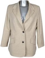 Laurèl Beige Wool Jacket for Women