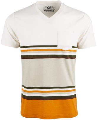 American Rag Men Explorer Stripe V-Neck T-Shirt
