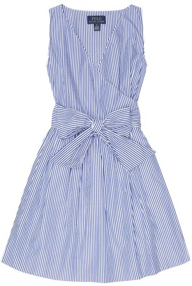 Polo Ralph Lauren Striped cotton poplin dress