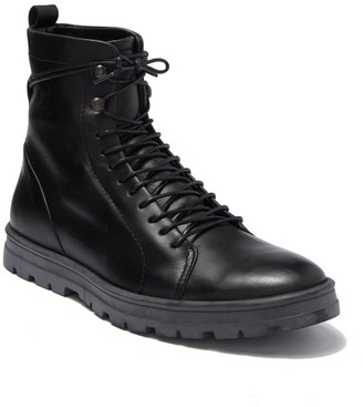 Hudson Waterproof Leather Lace-Up Boot
