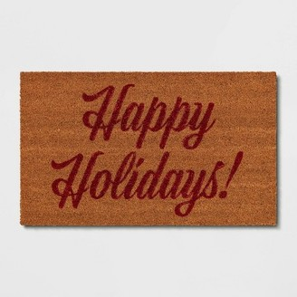 "1'6""x2'6"" Happy Holidays Doormat - ThresholdTM"
