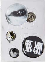 Raf Simons Black and Yellow Logo Pin Set