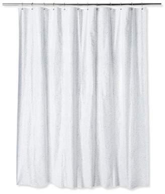 Room Essentials Retro Style Shower Curtain Black