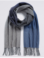 M&S Collection Ombre Extra Fine Wool Scarf