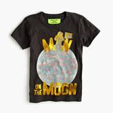 "J.Crew Boys' glow-in-the-dark ""man on the moon"" T-shirt"
