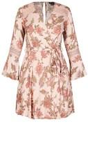City Chic Gypsy Floral Dress