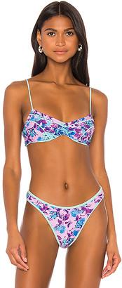 For Love & Lemons Tahiti Bikini Top