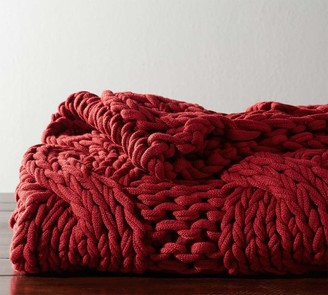 Pottery Barn Colossal Handknit Throw