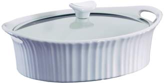 Corningware Oval 2.5-Quart Casserole Dish With Cover