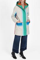 Missoni Stripe Hooded Coat