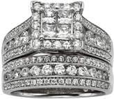 JCPenney MODERN BRIDE 2 CT. T.W. Diamond Bridal Ring Set