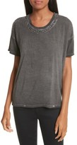 The Kooples Women's Bead Embroidered Tee