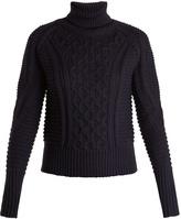 Mary Katrantzou Lancelot roll-neck wool sweater