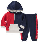 Tommy Hilfiger Two-Piece Colourblock Sweater and Pants Set