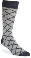 Lorenzo Uomo Men's 'Trellis' Socks