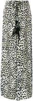 Roberto Cavalli leopard palazzo pants