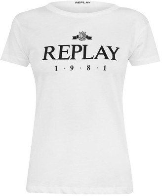 Replay 1981 Logo T Shirt