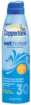 Coppertone Wet 'n Clear Continuous Spray Sunscreen, SPF 45