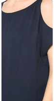 Alice + Olivia AIR by Knot Shoulder Washed Top