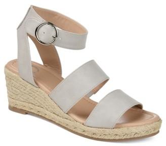 Journee Collection Norra Espadrille Wedge Sandal