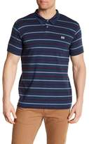 Billabong Short Sleeve Stripe Polo