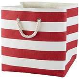 Baby Essentials Stripes Around the Floor Bin (Red)