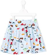 Simonetta kitchen print skirt