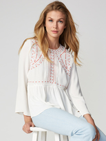 525 America Embroidered Blouse