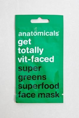 Anatomicals Face Mask - Brown ALL at Urban Outfitters