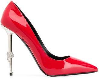 Philipp Plein Decollete Skull high heels