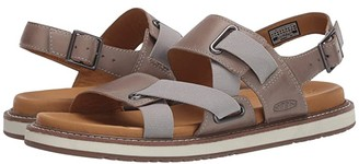 Keen Lana Z-Strap Sandal (Plaza Taupe/Blue Surf) Women's Shoes