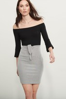 Dynamite Knotted Pencil Skirt