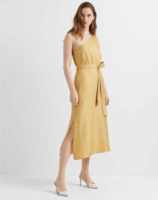 Club Monaco Asymmetrical Waist Dress