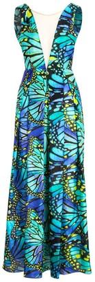 Luxury Blue Butterfly