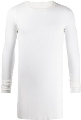 Rick Owens long-line layered T-shirt
