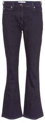 Valentino mid-rise flared jeans