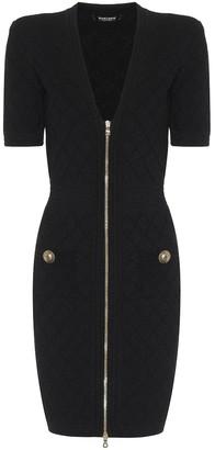 Balmain Knit bodycon minidress