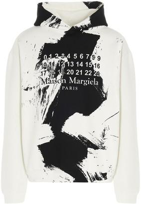 Maison Margiela Paint Effect Hoodie