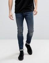 AllSaints Jeans In Skinny Fit Vintage Wash
