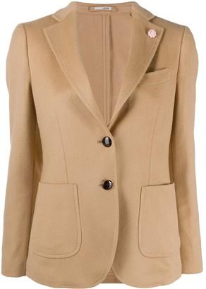 Lardini Mirtillda single breasted blazer