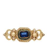 Natasha Accessories Crystal Filigree Pin