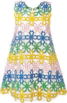 Sara Battaglia macrame lace dress
