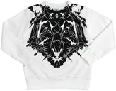 Marcelo Burlon County of Milan Tiger Printed Cotton Sweatshirt