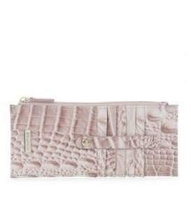Brahmin Melbourne Embossed Leather Credit Card Wallet